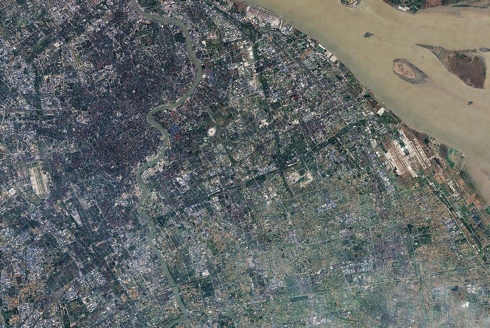 Shanghai (China) - Image ESA