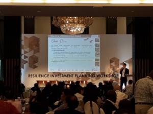 Read more about the article EO4SD-Urban @ World Bank City Resilience Investment Workshop 2019