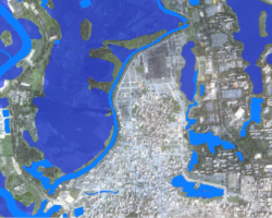 Mapping the most recent flood events in Dhaka (Bangladesh)